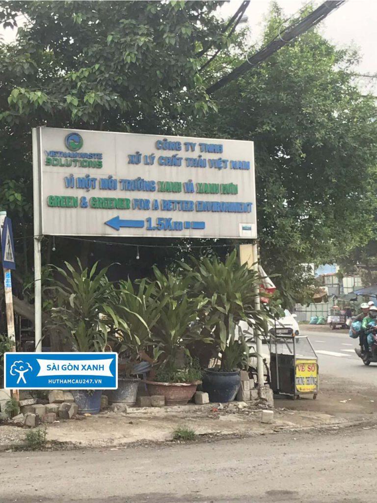 Dịch vụ đô thị sài gòn xanh hợp tác khu xử lý chất thải Đa phước