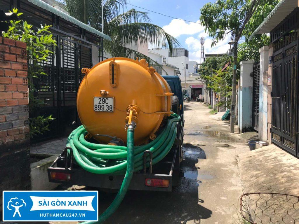 Hút hầm cầu Tại Tiền Giang 247 uy tín