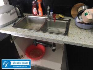 Thông bồn rửa chén huyện Bình Chánh