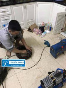 Thông bồn rửa chén quận 1