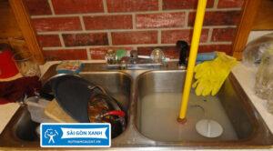 Thông bồn rửa chén quận 12
