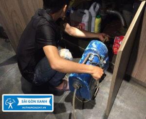 Thông bồn rửa chén quận Bình Tân