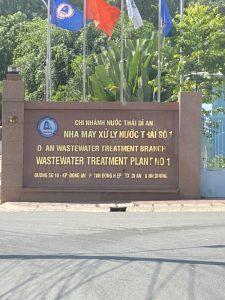 nhà máy xử lý chất thải hầm cầu